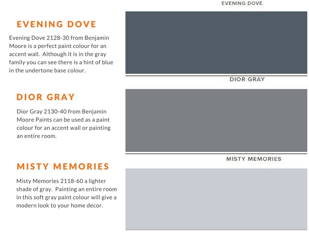Gray Paint colours used by house painters in Ottawa PG Paint & Design