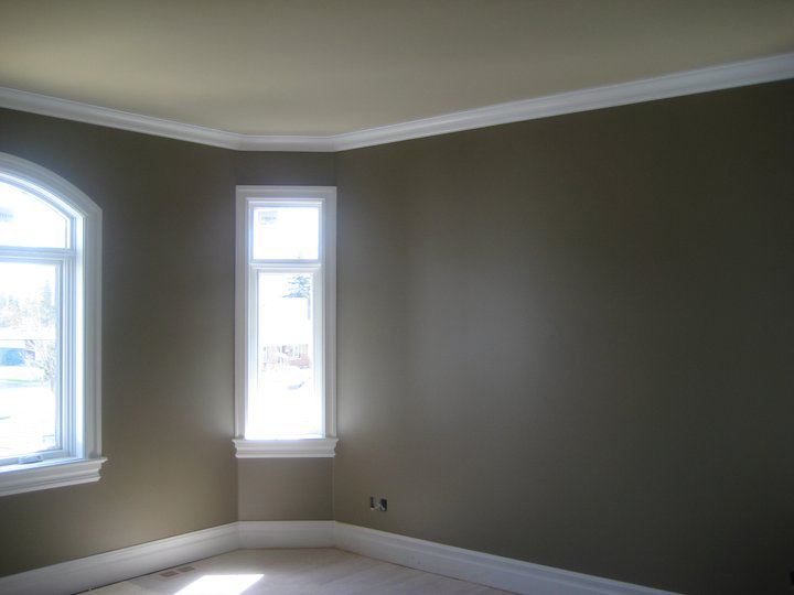 an interior of living room painted by professional painting company