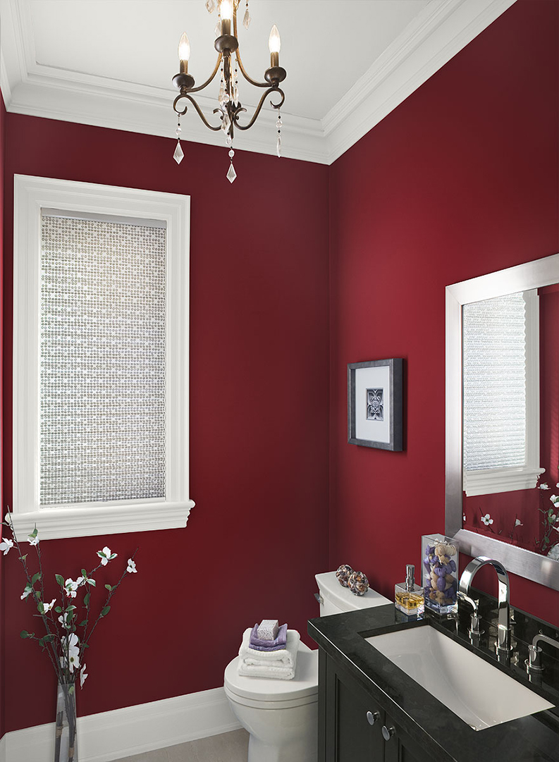 Benjamin Moore Paint with focus on OC 117 simply white on trim and ceiling painted by PG PAINT & DESIGN