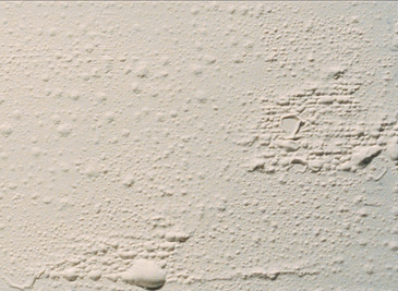Blistered Paint on walls