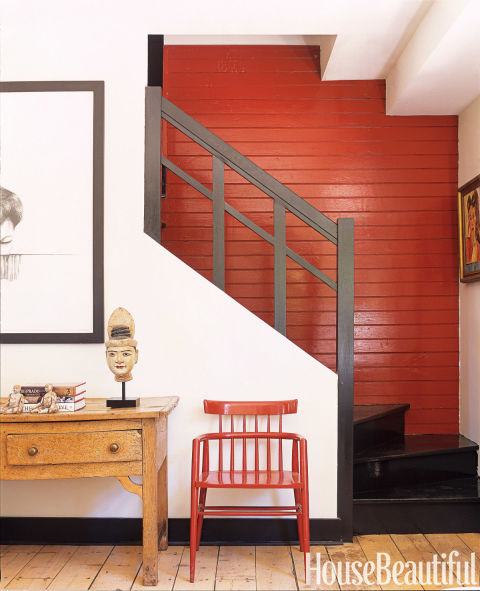 Entrance and Foyer painted with Benjamin Moore paint by PG PAINT DESIGN