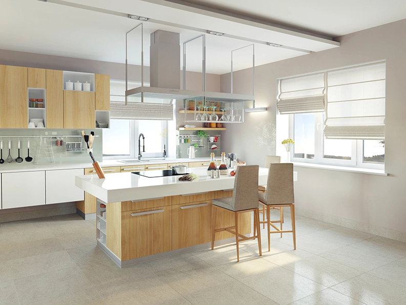 kitchen painted by professional painting company in Ontario Ottawa