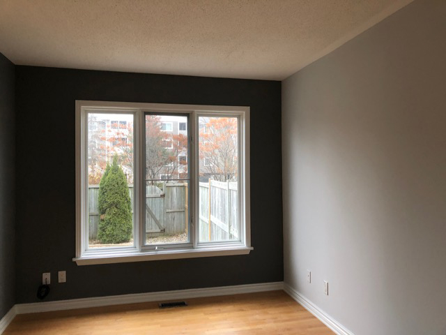 living room painted by PG PAINT & DESIGN in Ontario Ottawa