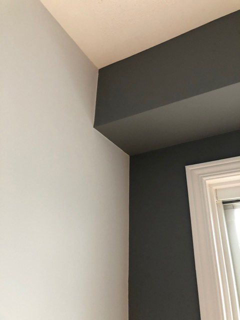 painted accent wall in Ottawa