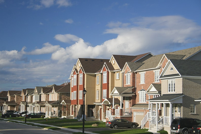 professional painted new townhouses in Ottawa interior and exterior painting by PG PAINT & DESIGN Ottawa Painters