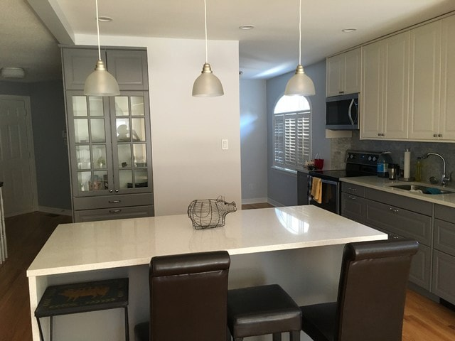 professional painted kitchen by PG PAINT & DESIGN in Ontario Ottawa