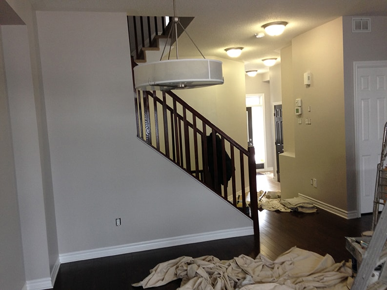 interior painting of house in Ottawa by PG PAINT & DESIGN painters