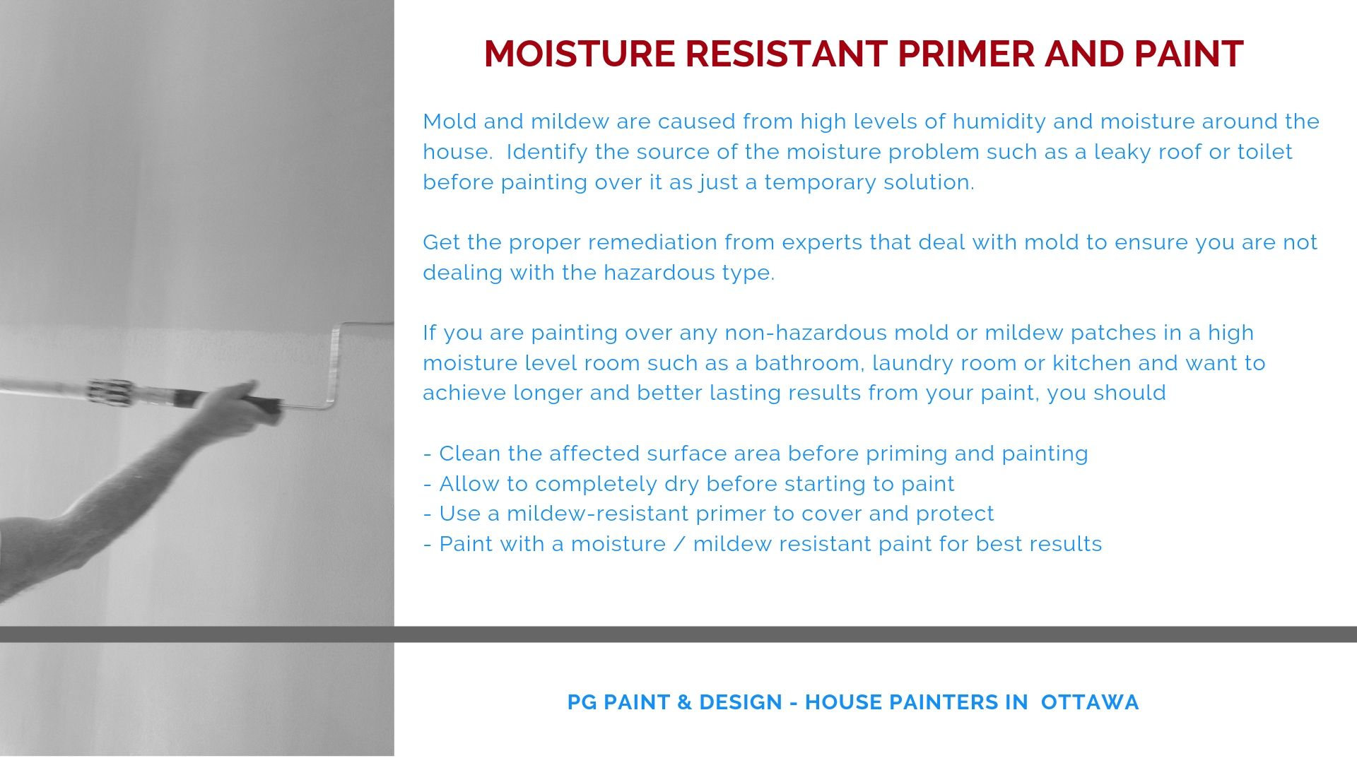 mildew resistant paint primer applied before painting prevents mold and mildew
