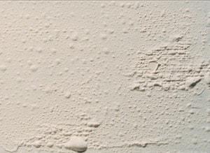 paint bubbles or paint blisters