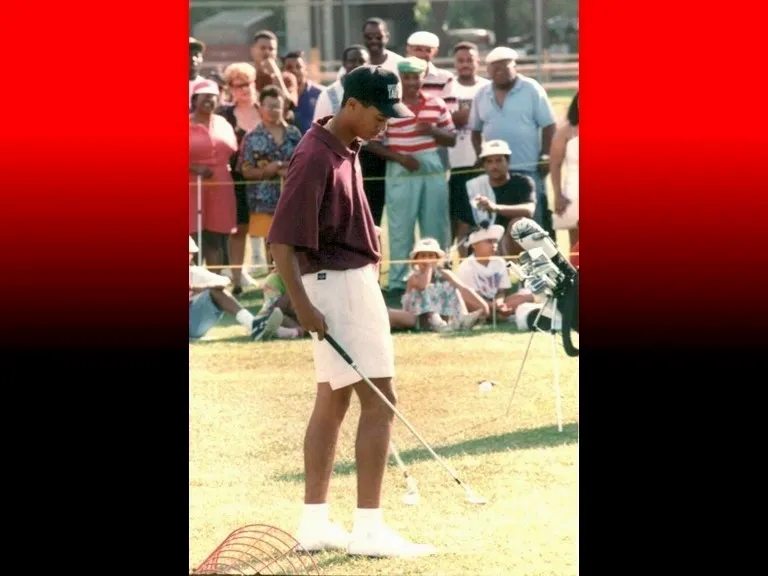 Focus, balance, and skill. A few of Tiger's many talents.