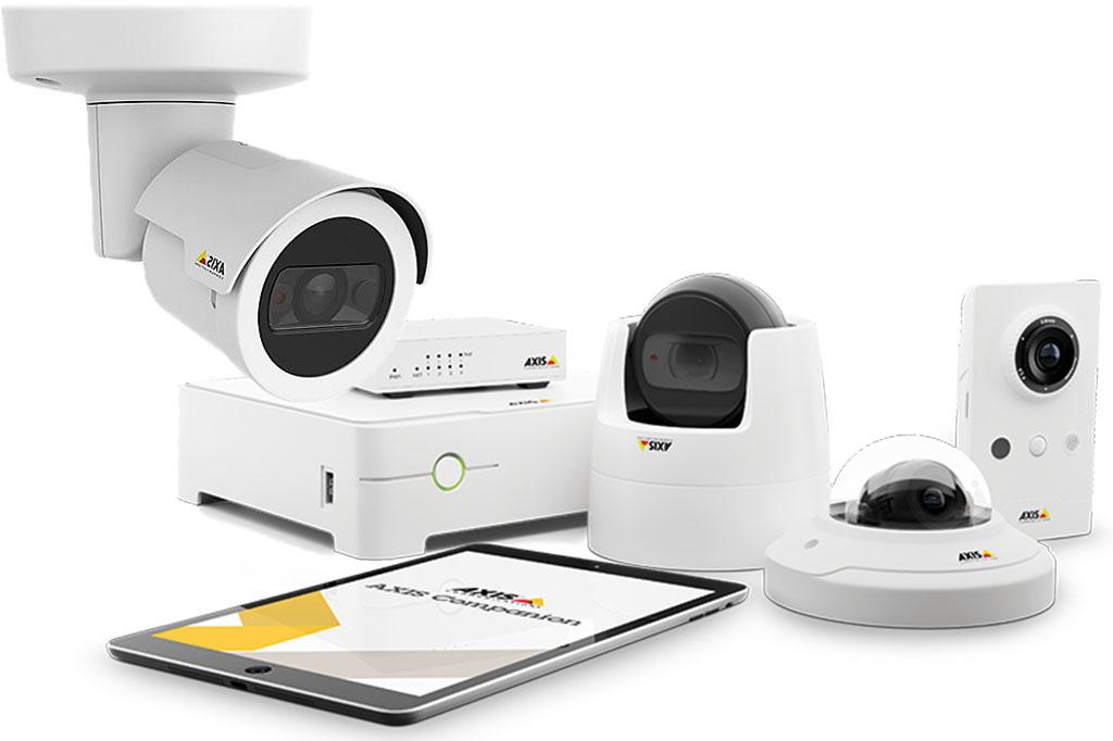 Axis companion cameras