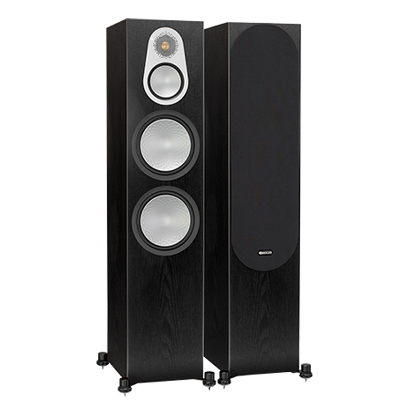 "<h2>SILVER 300</h2> </br> The full three-way design delivers class-leading mid-range, while a pair of long-throw 6-inch bass drivers work together to produce incredible power from the tall, but slim cabinet design, making it the perfect choice for serious audiophile and AV installations. The three-way configuration allows each driver to be optimised to do a better job over a narrower frequency band; the only real way to deliver elevated performance in every respect. Superlatively natural mid-range comes courtesy of a dedicated 4-inch driver, specially designed with 'under hung' voice coil and motor system. This technique ensures the voice coil always remains in the magnetic gap under all conditions for demonstrably lower distortion than usually found at this level – an advance which can be immediately heard. Coupled with higher overall impedance and better overall system damping, the cabinet can be placed close to a wall. However, this is a serious audiophile speaker, capable of delivering seismic levels of bass extension. For optimum performance, a distance of just 12 inches (30 cm) is needed between the speaker and wall, allowing the system to breathe and perform optimally. High overall sensitivity makes this new Silver 300 easy to drive with a modest, high-quality amplifier delivering precise, dynamic music or film to fill a medium to large room. This product is now available to use with home theatre design software, The Cinema Designer </br> <strong>Features</strong> <li>Three-way, four-driver configuration (electrically and acoustically) allows the drivers to be optimised to deliver higher efficiency and lower distortion from a cabinet of this size</li> <li>New 25 mm C-CAM, (Ceramic-Coated Aluminium/Magnesium) featuring vented Neo magnet system has been optimised for lower distortion and cleaner-sounding highs</li> <li>Specially developed 4-inch mid-range driver with 'under hung' voice coil and motor system so the voice coil is always in the magnetic gap, ensuring very low distortion</li> <li>Dual 6-inch bass drivers with concave 'dished' C-CAM cone profile means better damping and improved mid-range clarity</li> <li>RST Cone profile for improved diaphragm rigidity and lower distortion</li> </br> <img src="" http://i67.tinypic.com/2u3vzgh.jpg ""> </br> <img src="" http://i63.tinypic.com/2hykvgh.jpg "">"