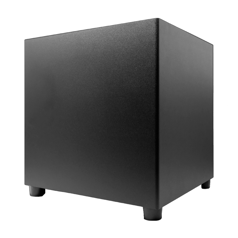 "<h2>Product Features:</h2> <li>Powered 10"" Vented Subwoofer</li> <li>175 Watt Amplifier</li> <li>Down Firing Ported Enclosure</li> <li>Black Vinyl Finish</li> Black Label is Elura's entry point into HiFi home audio. The same strict standards that are applied to the Elura premium offerings are present in the design and performance of this series. Black Label sonically outperforms most speakers that are over twice their price, leading many to say, ""these speakers sound too good for the money.""  <strong>1-YEAR WARRANTY - </strong>Elura speaker products are guaranteed to meet or exceed the specifications included in this manual and carry with them a 1-year limited warranty under normal conditions of use. This warranty covers free parts and labor on all components with the obligation that Elura will repair or replace any component found defective in materials or workmanship. This warranty does not apply to products that have been abused, incorrectly installed, modified, disassembled and/or repaired by anyone other than Elura or our appointed repair facility."