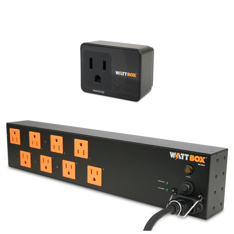 WattBox WB-400-8 plus surge