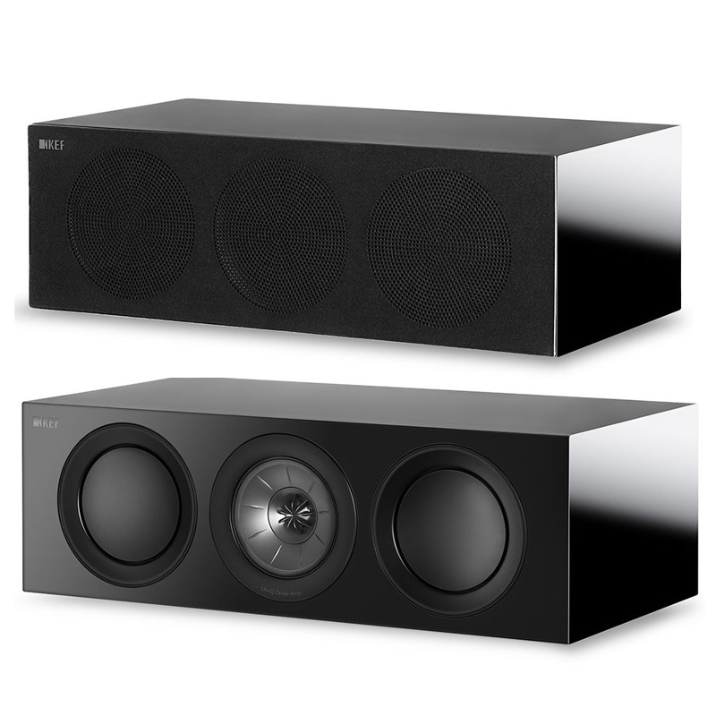 Kef R2c Center channel speaker for home theater.