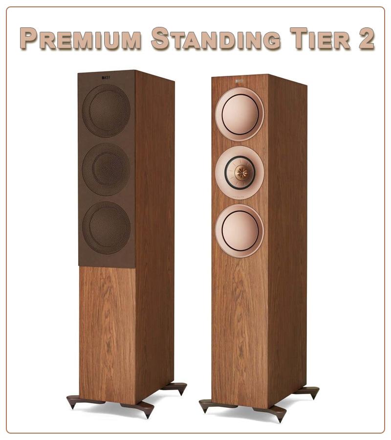 Kef T7 speaker tower