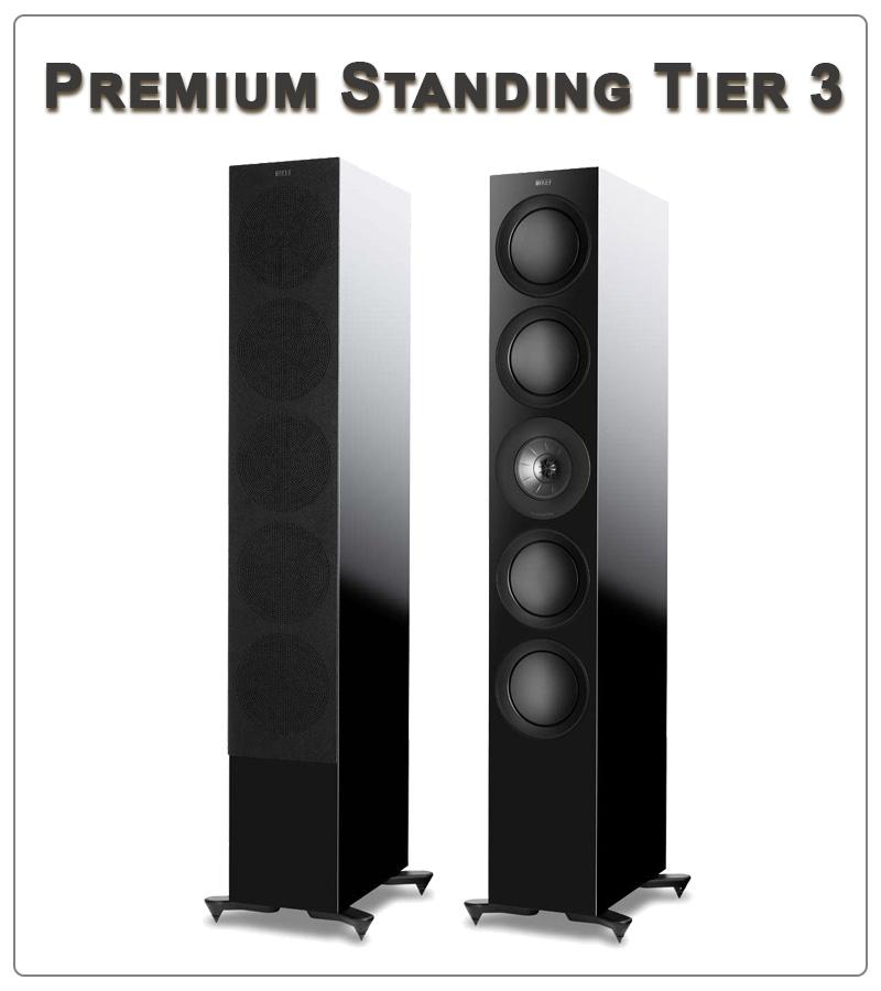 Kef R11 speaker tower