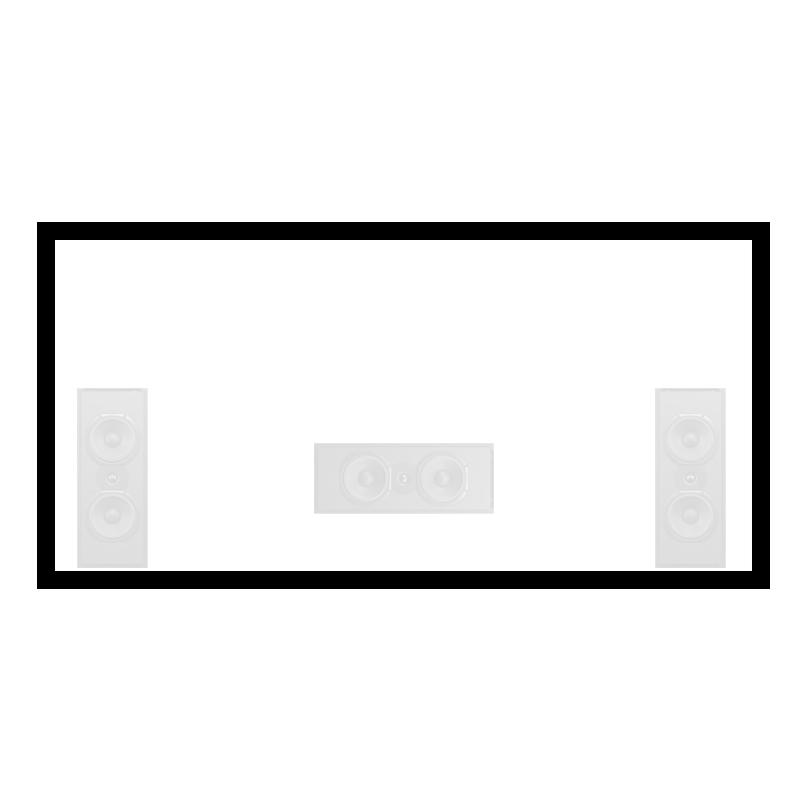 Seymour screen acoustically transparent