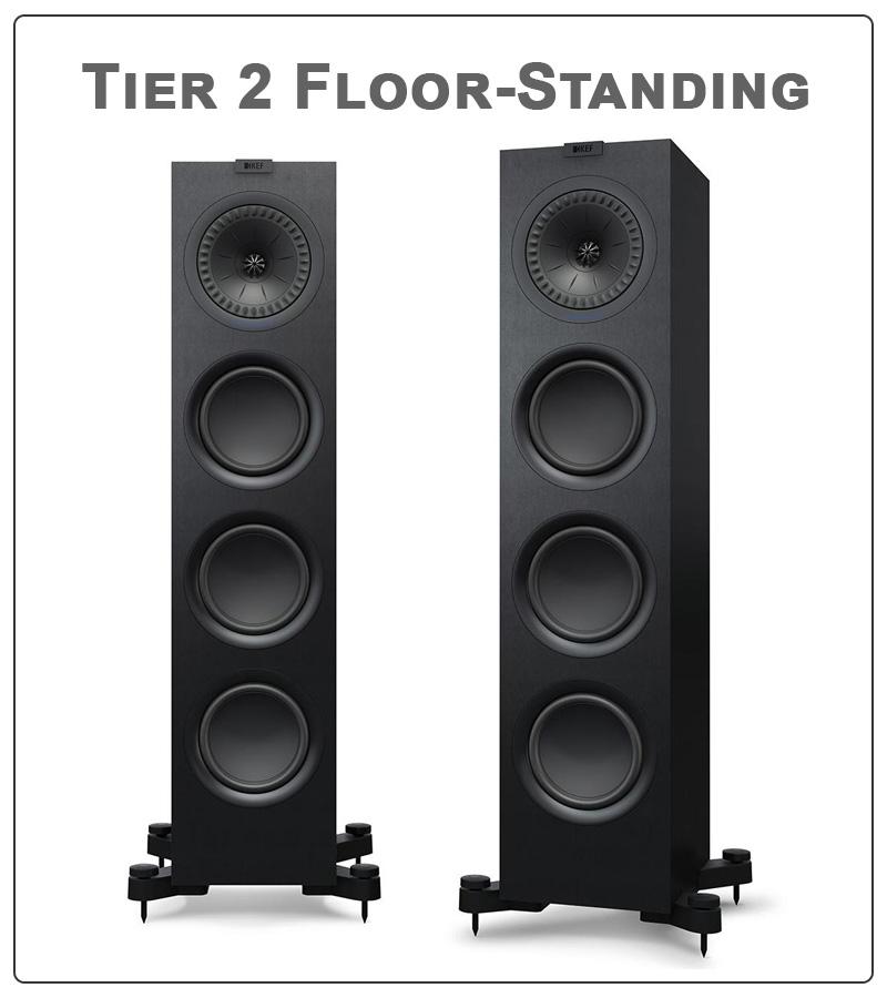 Tier 2 Floor Standing Home Theater