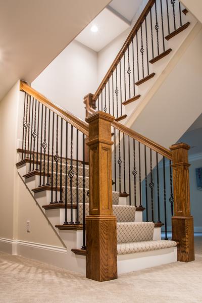 MK Custom Homes - Stairs and Basements