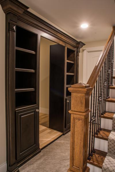 MK Custom Homes - Basement Design