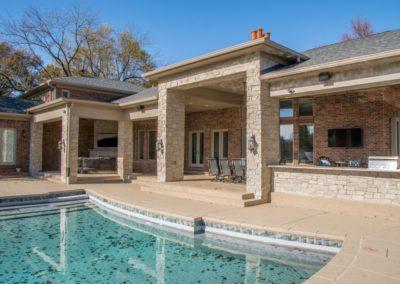 MK Custom Homes - Outdoor kitchens