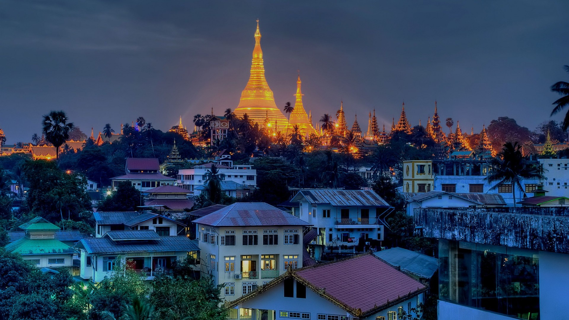 Burma-Yangon-City