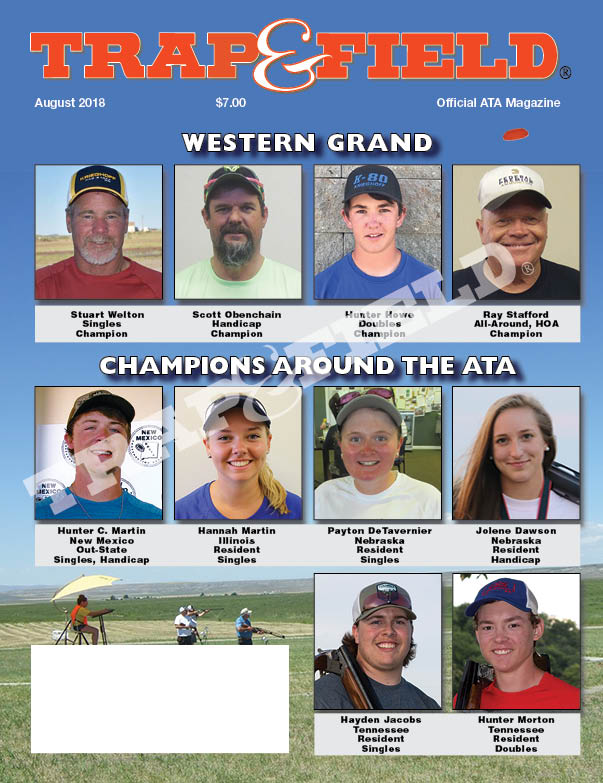 Trap and Field Magazine - August 2018 Issue