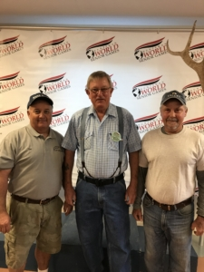 With the hard work of Troy Bowler, John Freeman and Steve Wood, plus many others, the Huntsman Senior Games was a success.