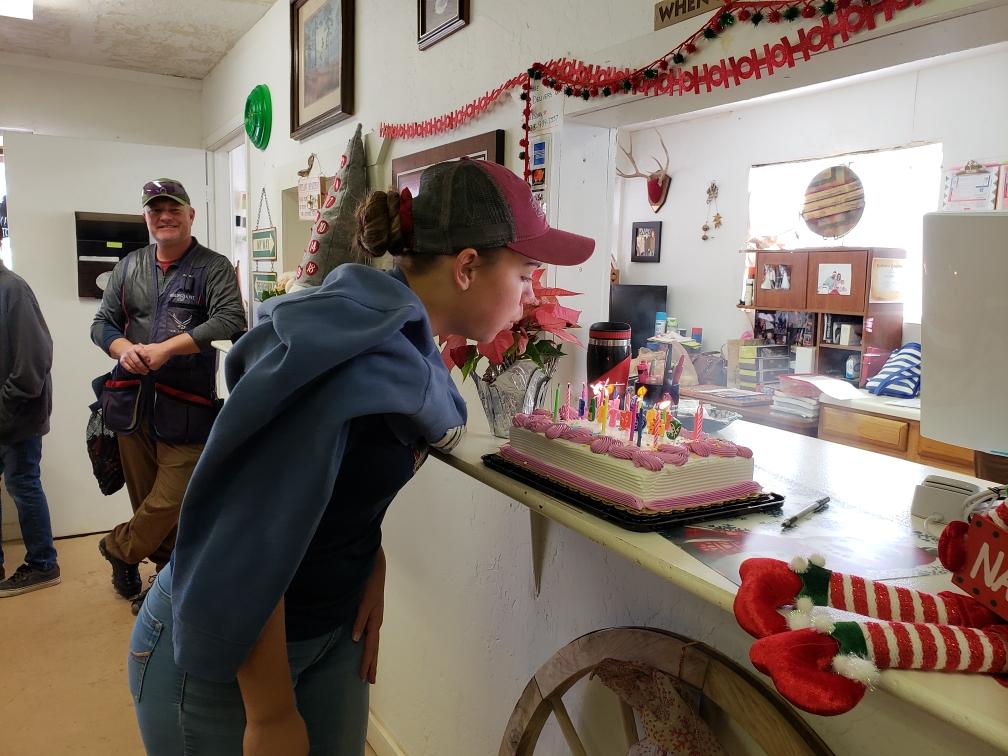McKenna Martin celebrated her 16th birthday at Casa Grande TC