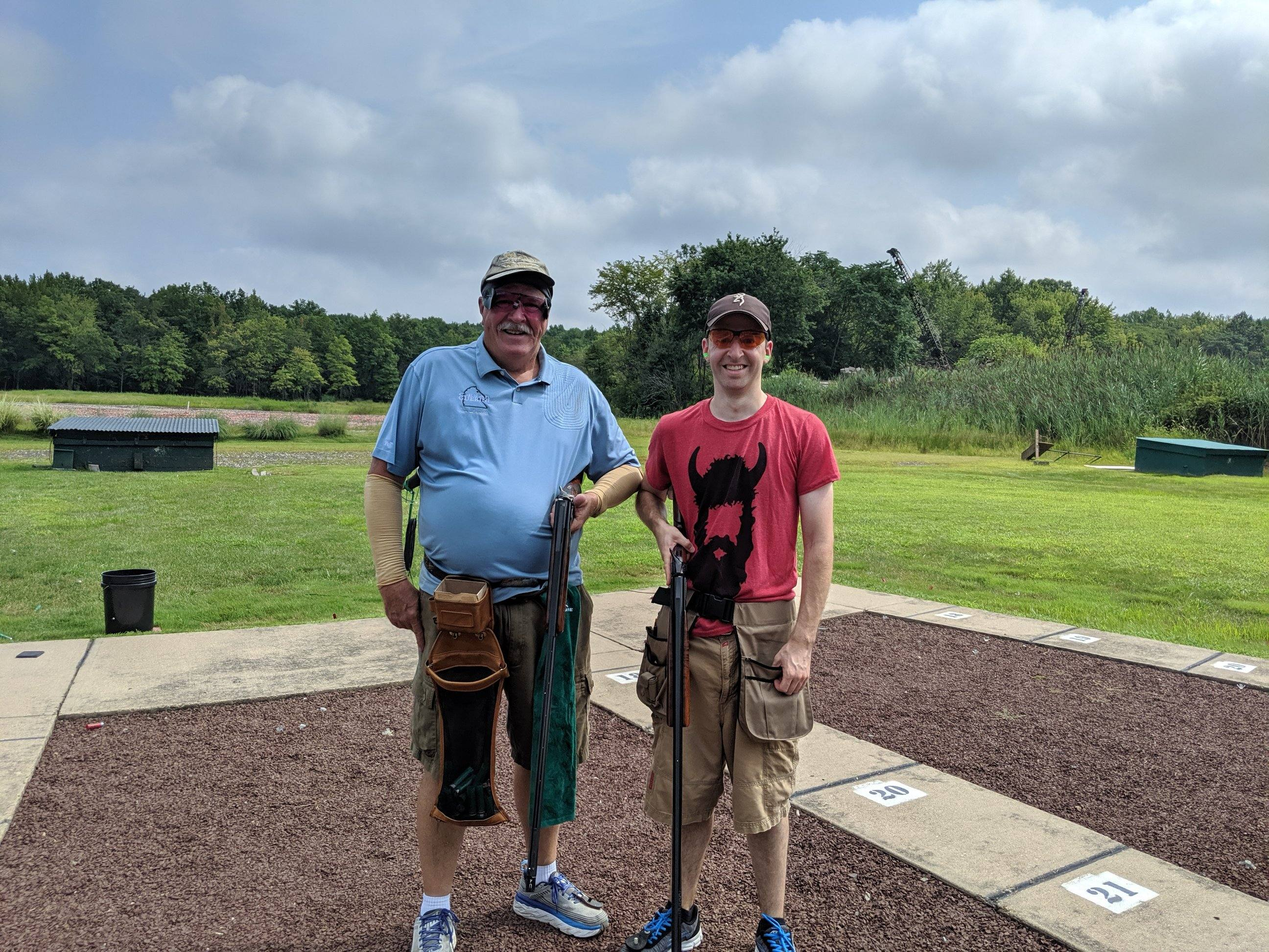During North Jersey CTC's Aug. 18 memorial shoot, Jim Lavelle, who was shooting with his son Mike, fired at his 10,000th ATA bird of the 2019 target year. It was Jim's goal to reach the 10,000 mark and have his name listed in the state shoot program. Jim posted a 98 in singles, his personal best, and followed it up with a 96. The latter score tied him for the high-gun prize, which he won by forfeit.
