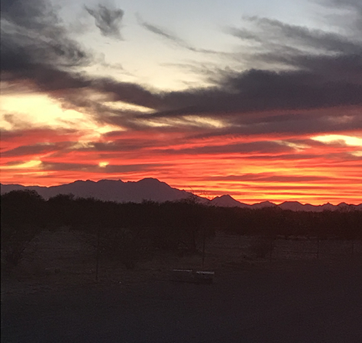 Twenty-one Utah shooters traveled to Tucson T&SC to take part in the Autumn Grand and enjoy the spectacular sunsets seen every evening.