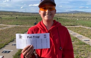 Nick Lawlar carded his first 25 straight during Spanish Fork's Memorial Day Shoot.