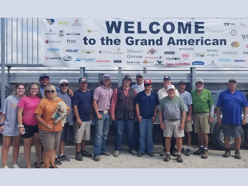 There were 27 shooters who made the trip from California to take part in the Grand American.