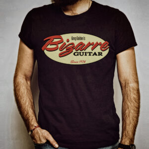 Bizarre Guitar Graphic Tee