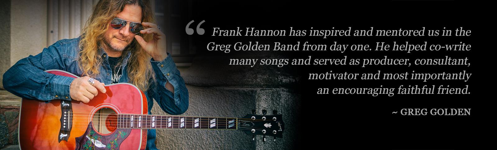 Greg Golden Quote