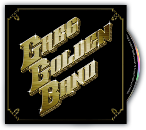 The Greg Golden Band (CD)
