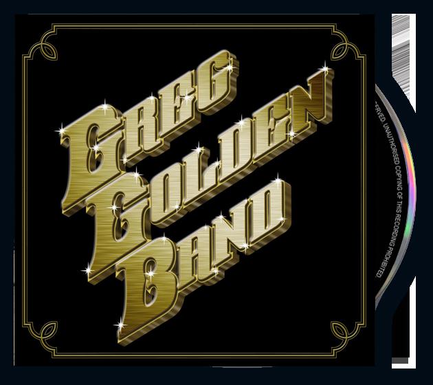 The Greg Golden Band (CD)