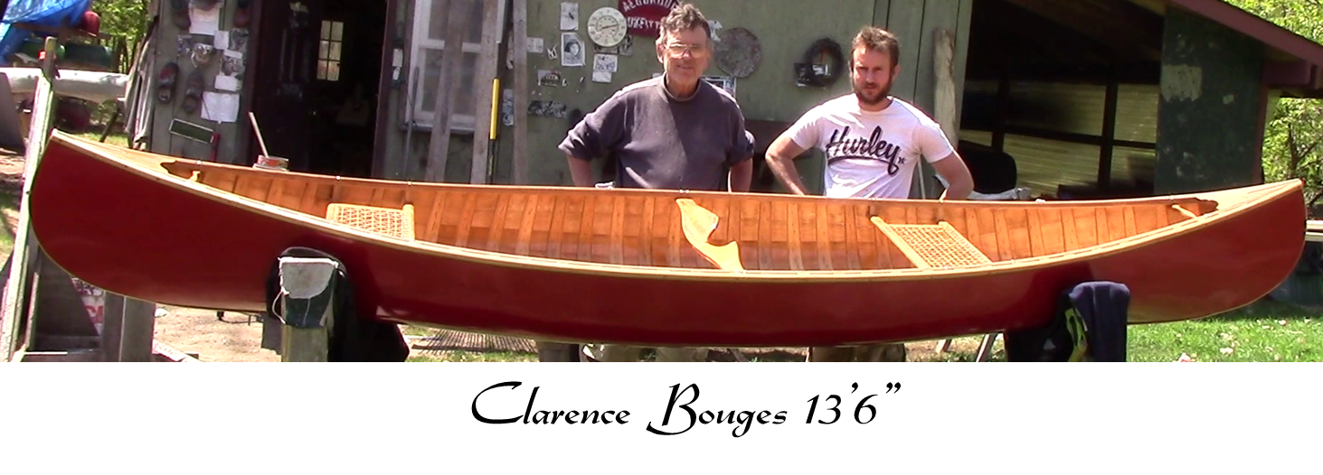 Cook Craft Custom Canoes - Clarence Bouges 13'6