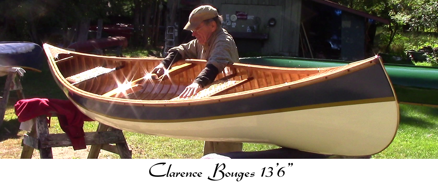 Cook Craft Custom Canoes - Cedar Canvas Canoe