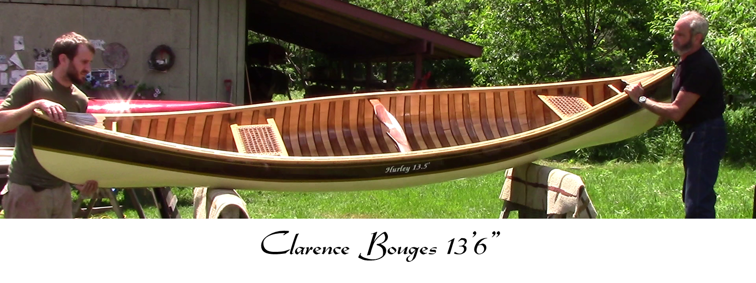 Cook Craft Custom Canoes - Cedar Canvas