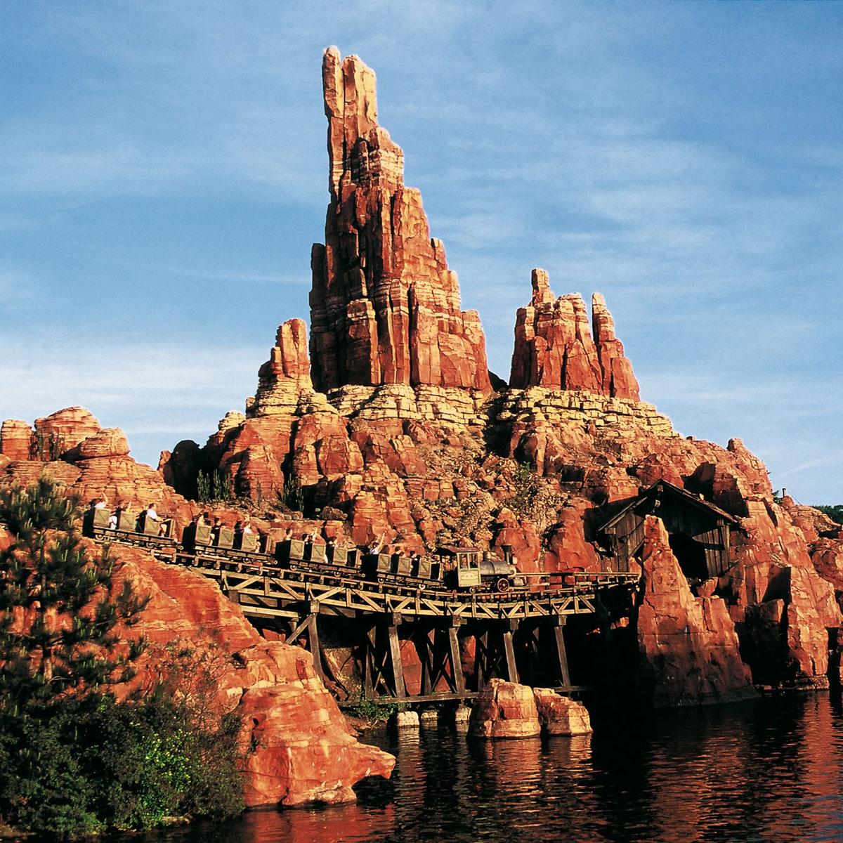 Big Thunder Mt Disneyland Paris