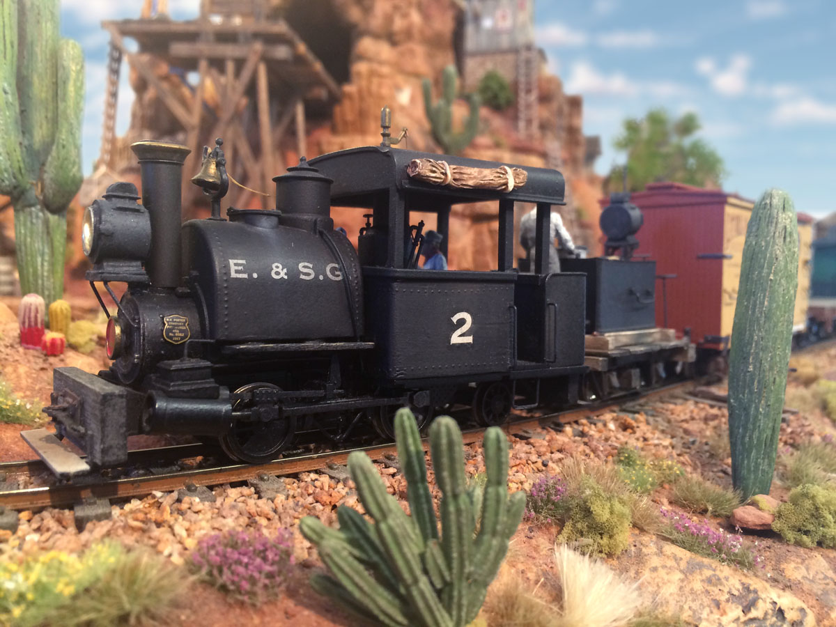 On30 locomotive Thunder Mesa