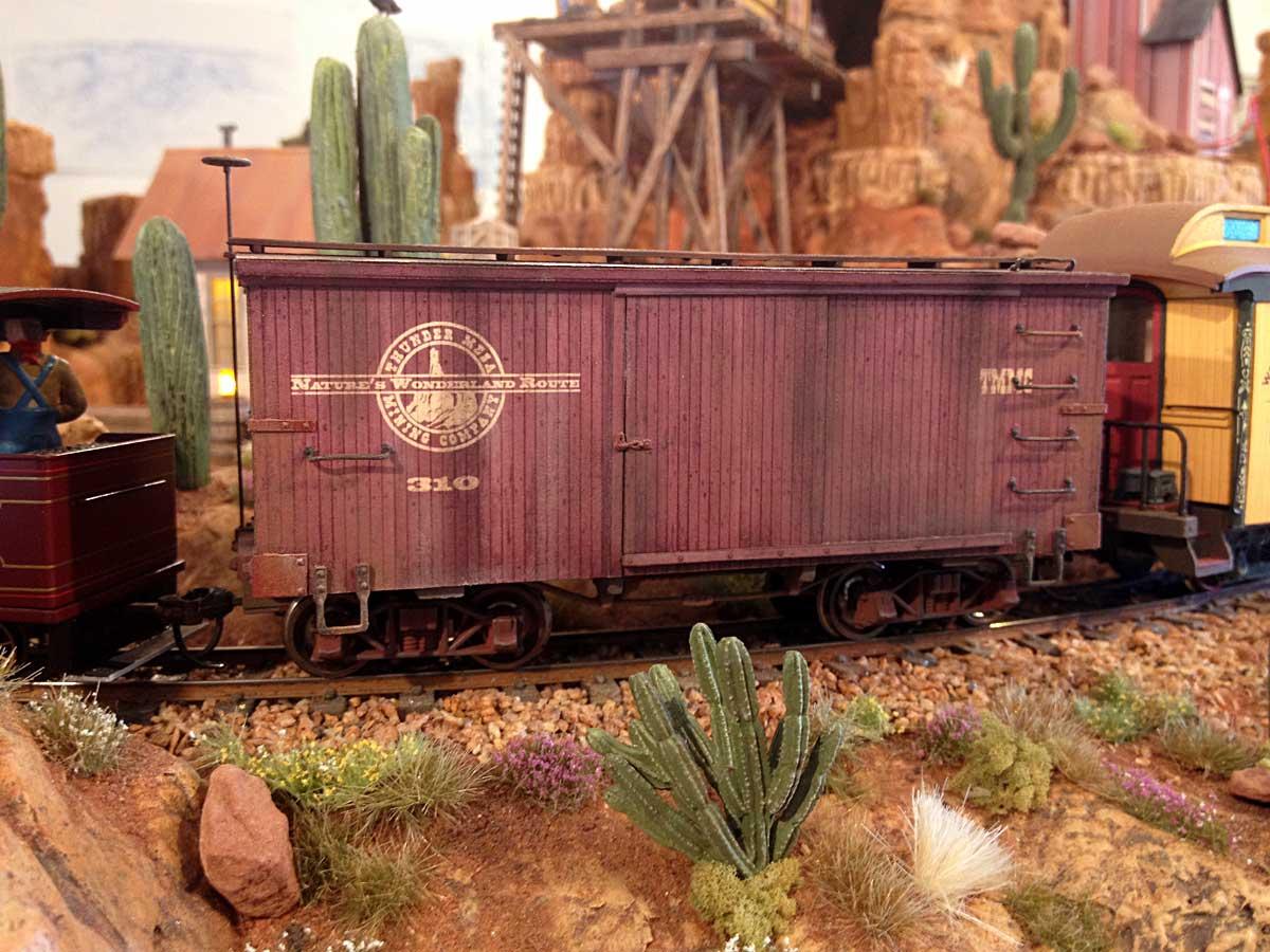 Thunder Mesa boxcar