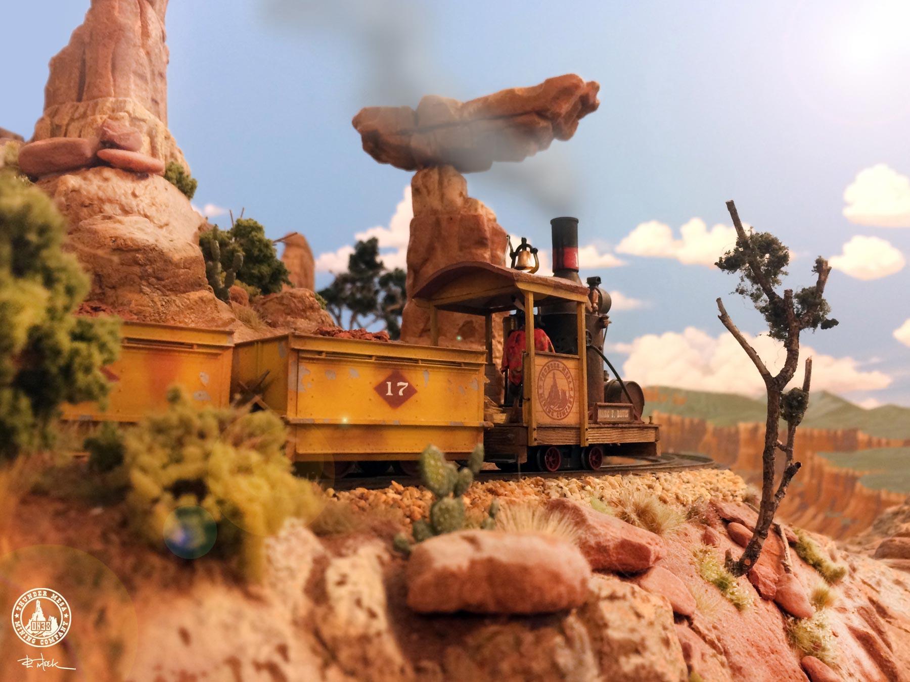 Thunder Mesa Model Rairoad