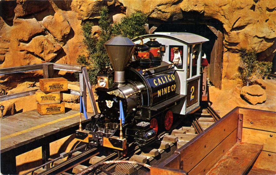 Knott's Calico Mine Ride