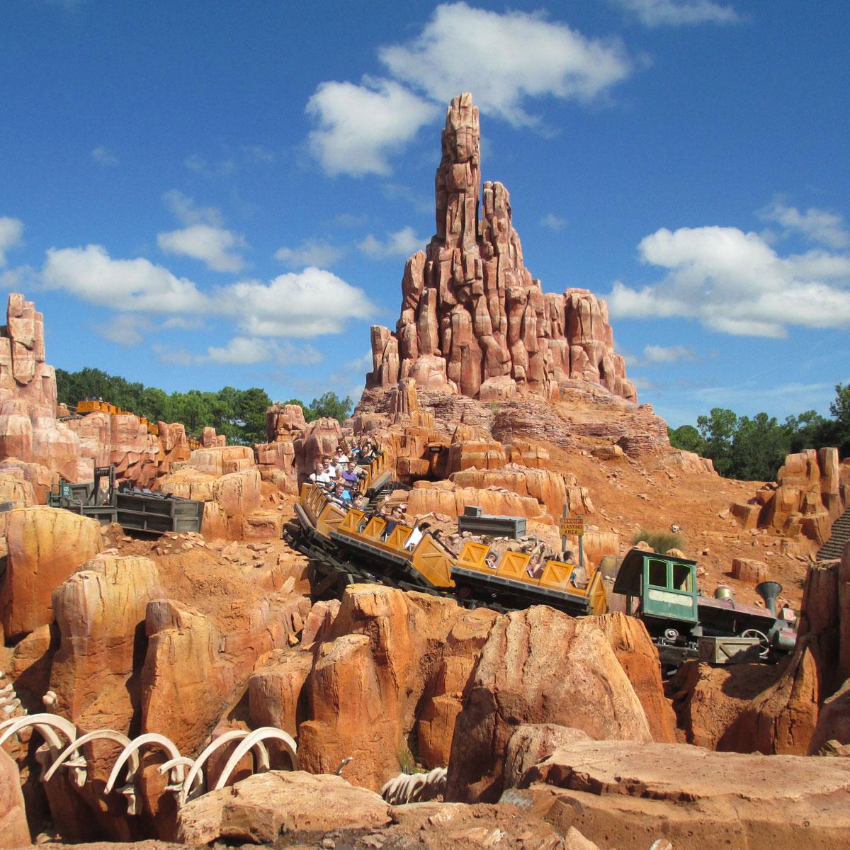 Big Thunder Mt Walt Disney World