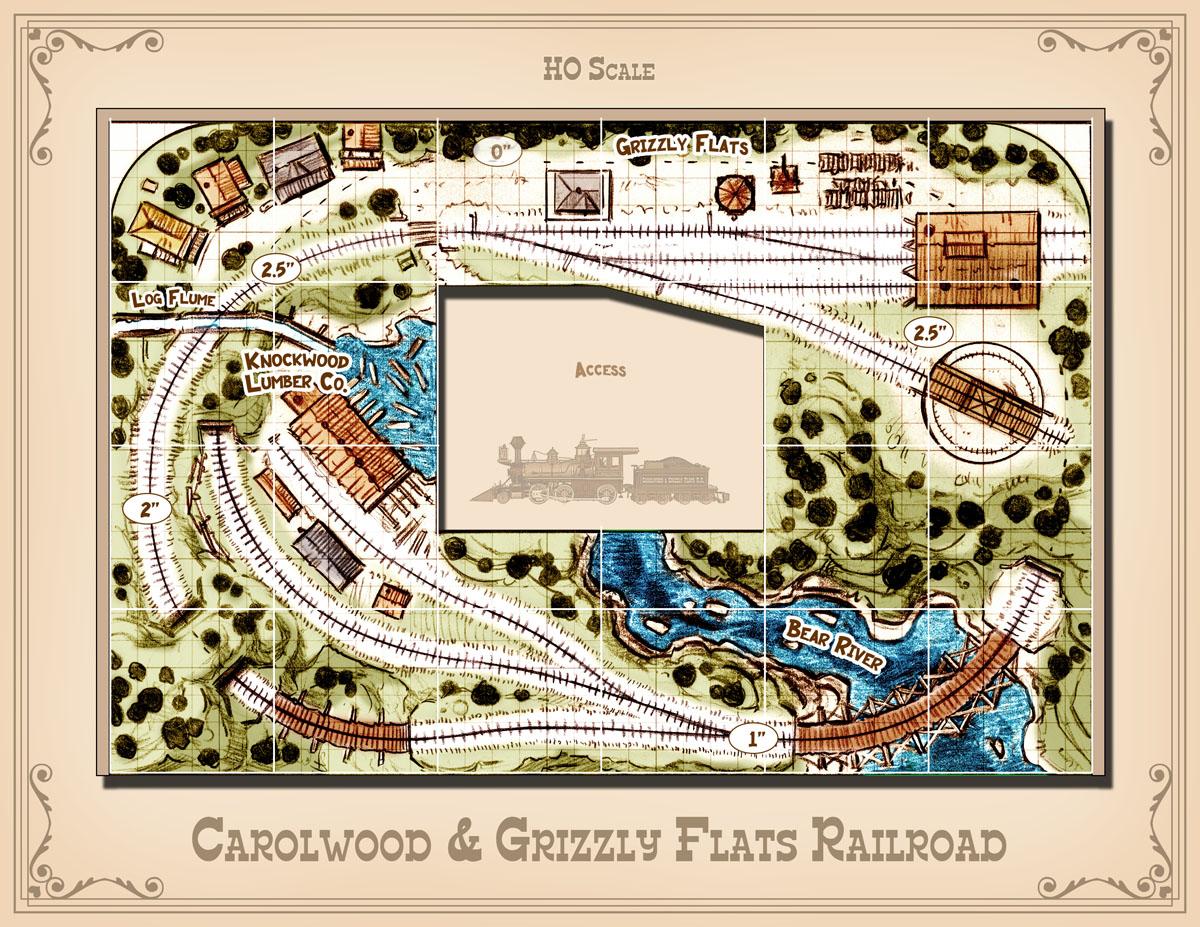 HO track plan