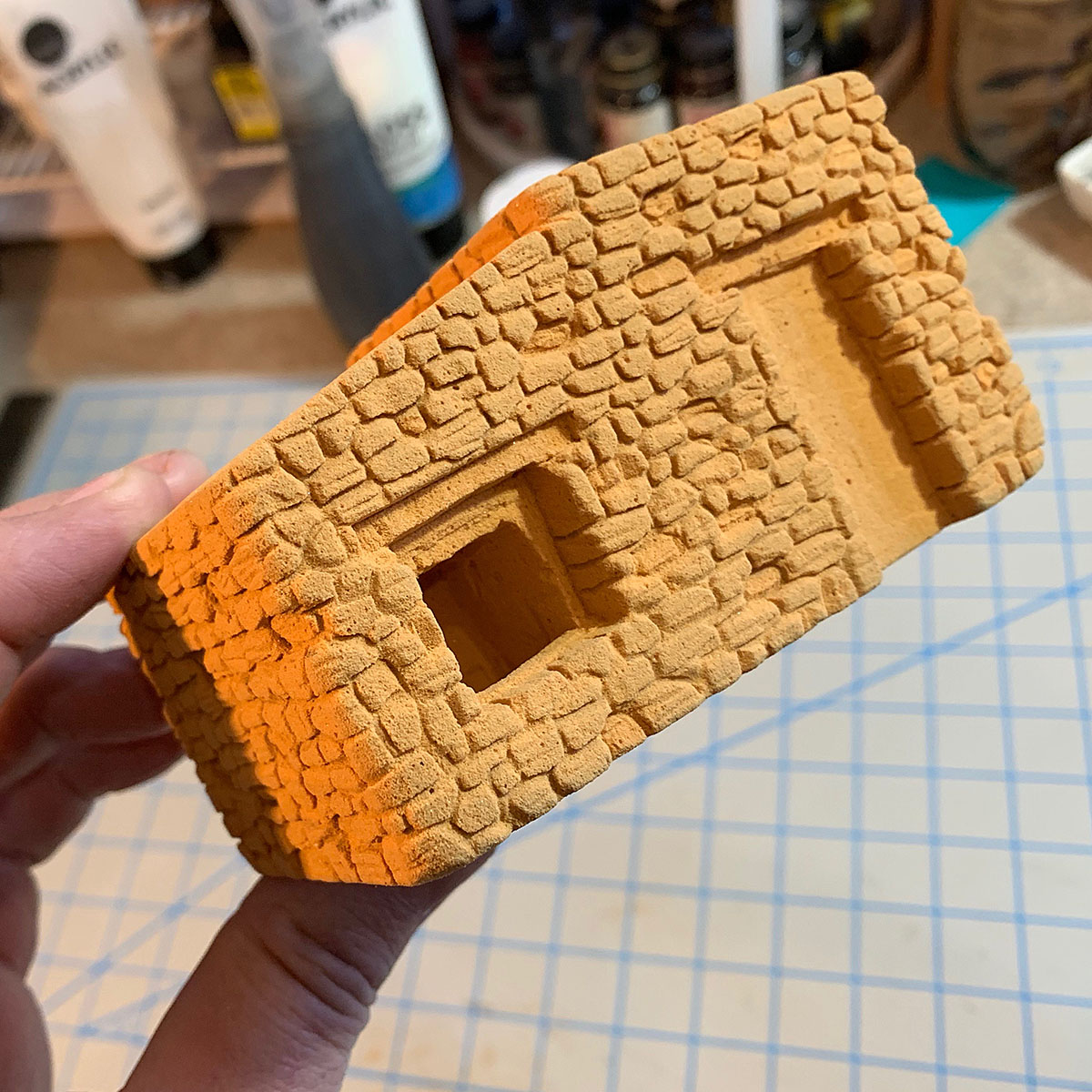 Balsa Foam carving