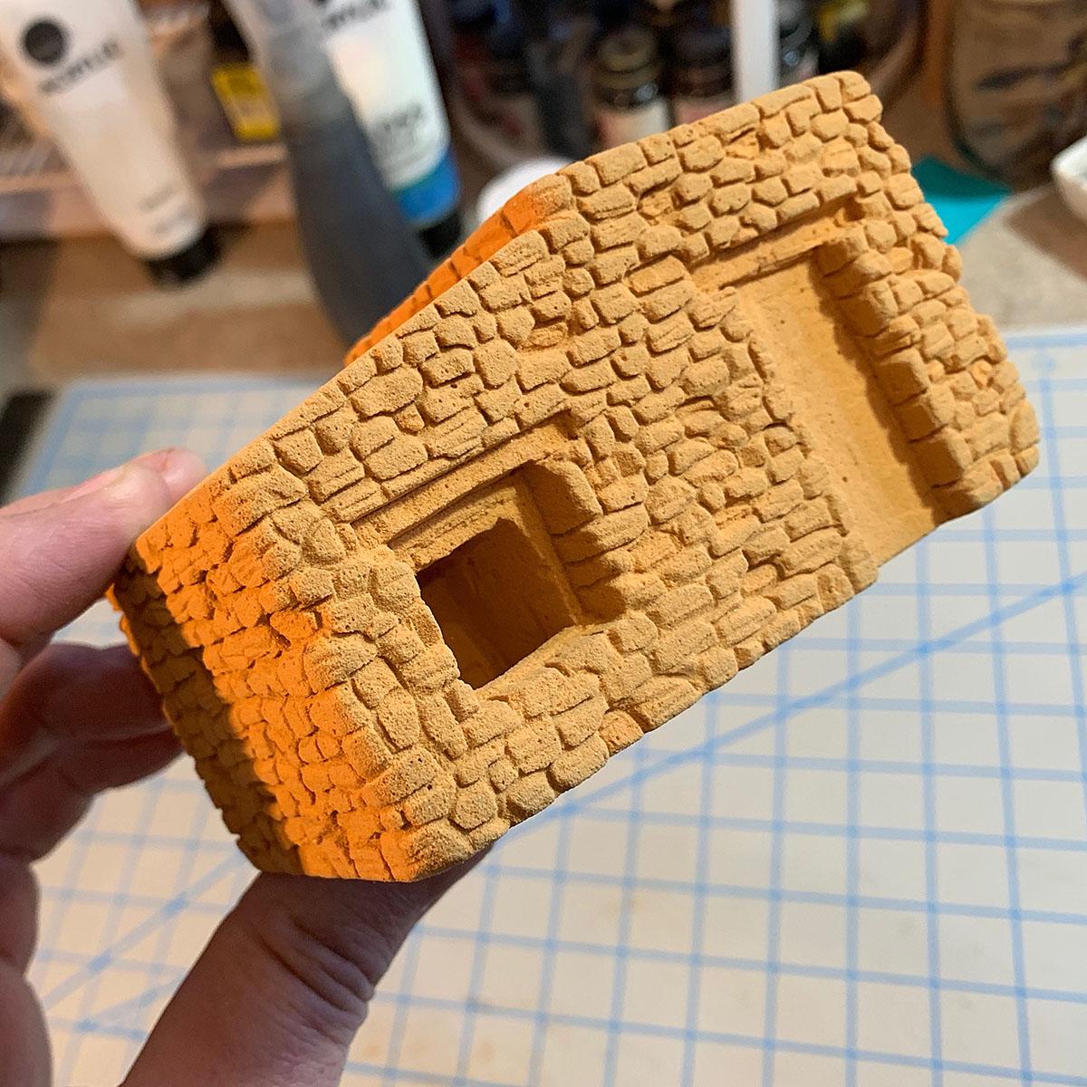 Balsa Foam carving